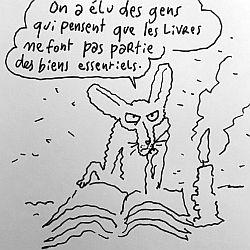 Les librairies doivent rester ouvertes … – Prendre Parti